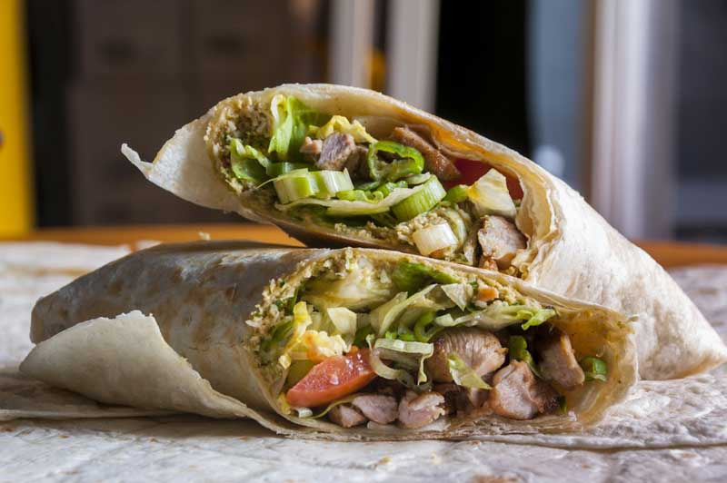 chicken-fajita-wrap